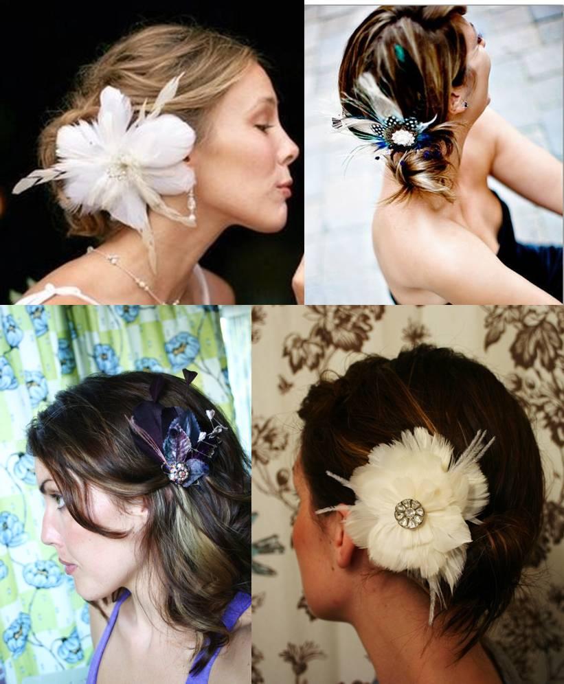 flor nos cabelos