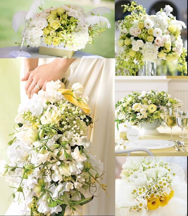 arranjo casamento dia flores