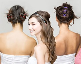 modelo de penteado para festa