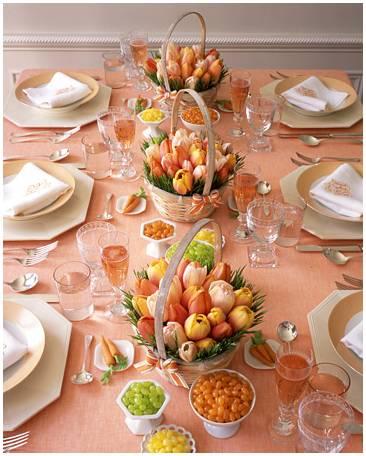 imagem133 Decoração para almoço do dia das mães