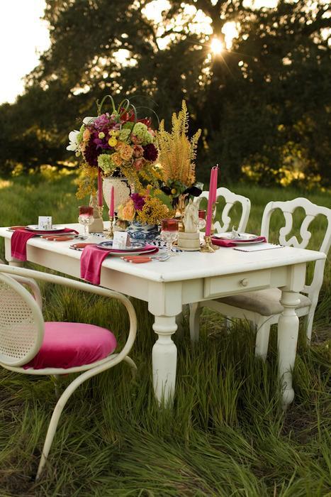 decoracao mesa branca:mesa branca e decoracao rosa – Amarelo Ouro