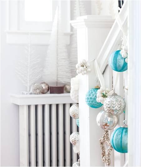 decorar ouro branco:natal azul e branco – Amarelo Ouro