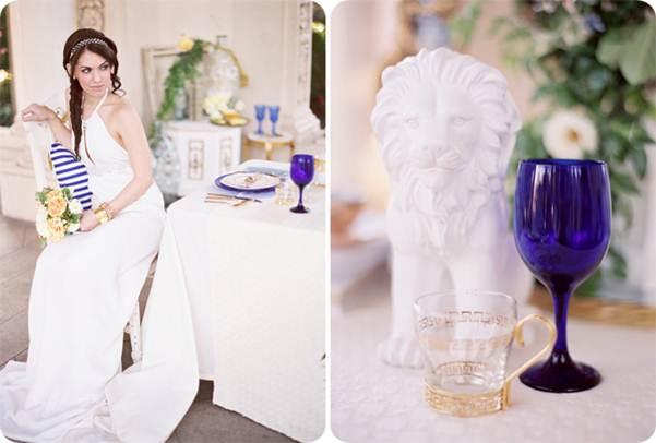 decoracao festa grega:vestido de noiva grego – Amarelo Ouro